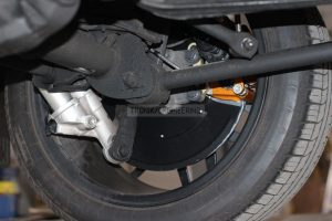 rear rotor carbon ceramic brake system brake rotor 410/32 & single pot AMG w/ floating clamp