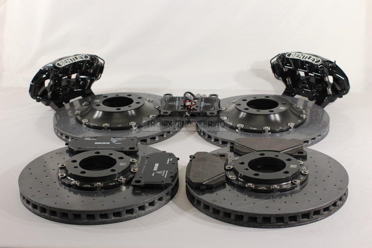 retrofit carbon ceramic brake system set for 2019 Bentley Continental GT