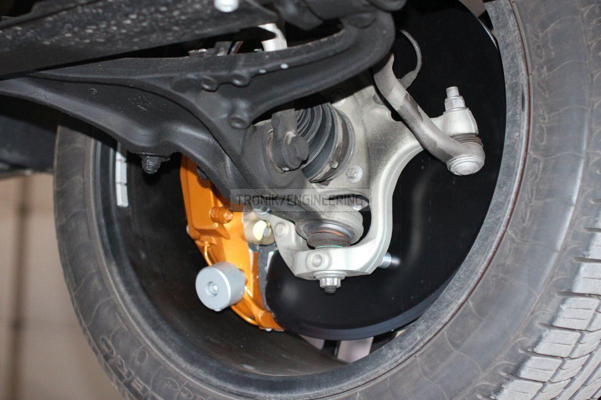 rotor size 440/40 10 pot caliper
