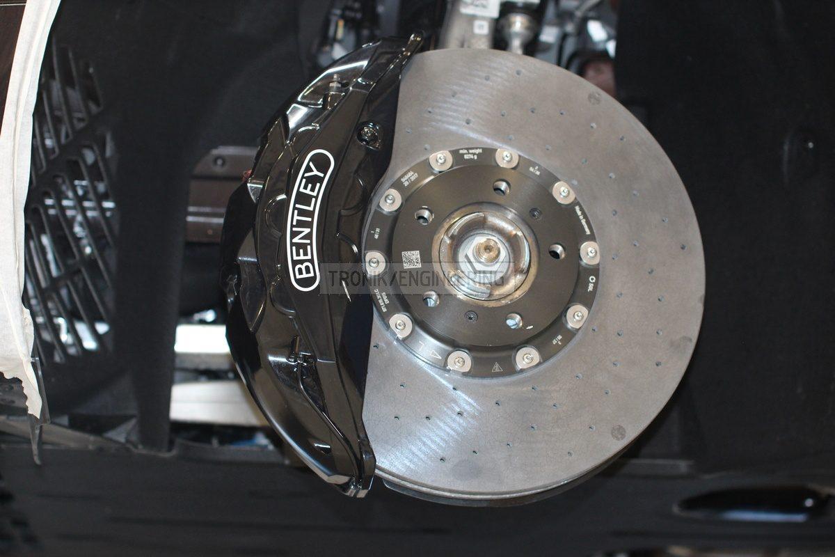 standard caliper rotor size 420-40 CCB pads