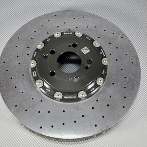 A 231 421 07 12, left front carbon-ceramic rotor AMG W213/W212/W197/W253/W205. pic.3