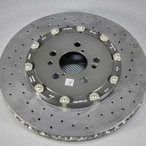 A 231 423 06 12, right rear carbon-ceramic rotor AMG W213/W222. pic.1