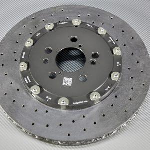 A 231 423 07 12, Rear left carbon-ceramic rotor AMG W213/W222. pic.2