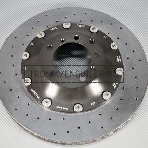 9Y.615.601.E, rear left Porsche Cayenne carbon-ceramic rotor.410x32mm. pic. 1