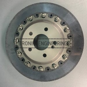 Rear carbon-ceramic rotor SLR W199 pic 2